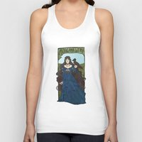 poetry Tank Tops featuring pagan poetry by alexa bosy