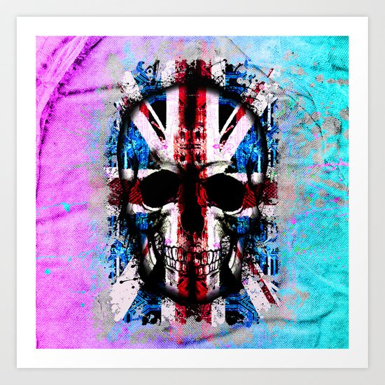 Skull Jack Art Print