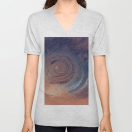 eye in the sky, eye in the desert | space #01 Unisex V-Neck