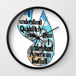 Quiddtch Wall Clock