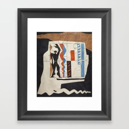 The Modulor Sketch by Le Corbusier Framed Art Print