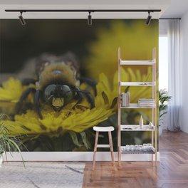 Winter Bee Wall Mural