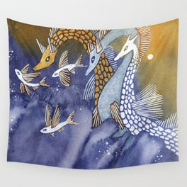 Sea Serpents Wall Tapestry