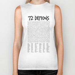 72 Demons Biker Tank