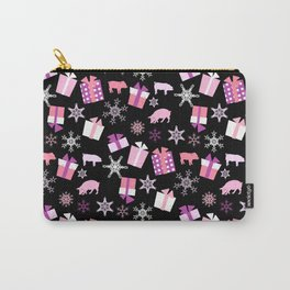 Piggy Pattern Presents Carry-All Pouch