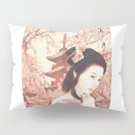 Asian Rose Pillow Sham