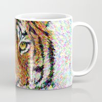 tiger Mugs featuring Tiger by David Zydd