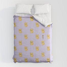 Hachikō, the legendary dog pattern Comforters