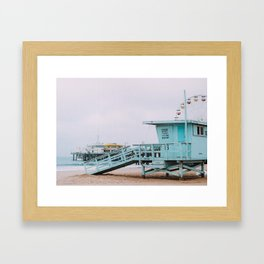 Lifeguard Off Duty Framed Art Print