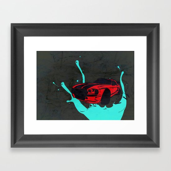 new Car ?? Framed Art Print