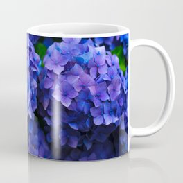 Purple Hydrangeas Coffee Mug
