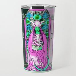 2. The High Priestess- Neon Dreams Tarot Travel Mug