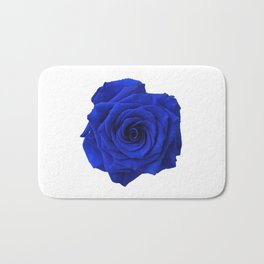 blue rose Bath Mat