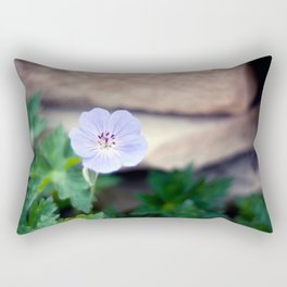 Meadow Cranesbill II Rectangular Pillow