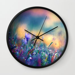 Begin of a Story Wall Clock