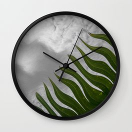 Leafs 1 Wall Clock