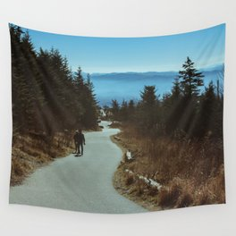 Path up the Great Smoky Mountains Wall Tapestry