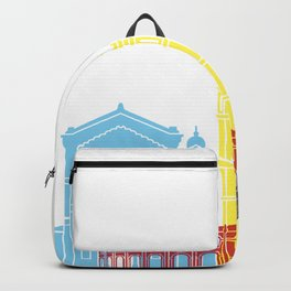 Castellon skyline pop Backpack