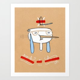 """One of those days when you say  """" what a day"""" Art Print"""