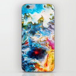 Abstract Melt VII iPhone Skin