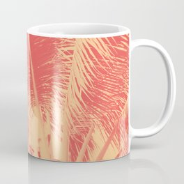 Mango Coral Tropical Palma Coffee Mug