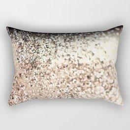 Sparkling GOLD Lady Glitter #2 #decor #art #society6 Rectangular Pillow