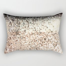 Sparkling GOLD Lady Glitter #2 #decor #art #society6 Rectangular Pillow