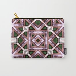 Victorian Art Deco Medieval Pattern colorful SB39 Carry-All Pouch