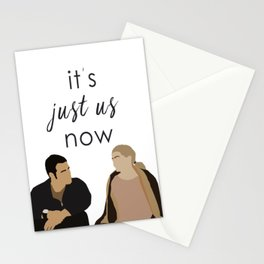 ALEX AND MEREDITH - MERLEX - GREY'S ANATOMY Stationery Cards
