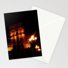 Night Crest 4 Stationery Cards