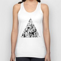 chaos Tank Tops featuring Chaos by ZantosDesign