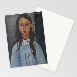 Alice by Amedeo Modigliani Stationery Cards