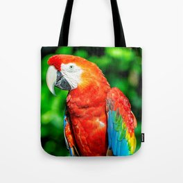 Amazon Parrot Tote Bag