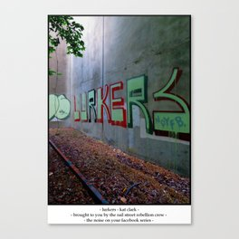 Lurkers Canvas Print