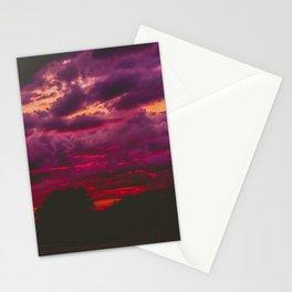 Stormy Sunset Stationery Cards