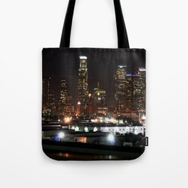 Bright Lights in the City of Angels. Tote Bag