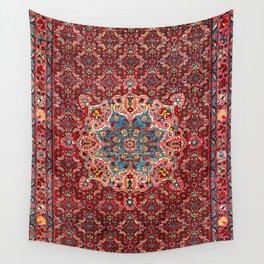 Bijar Kurdish Northwest Persian Rug Print Wall Tapestry