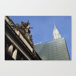 Old vs New - NYC Canvas Print