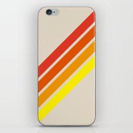 Classic Retro Stripes Alisanus iPhone Skin
