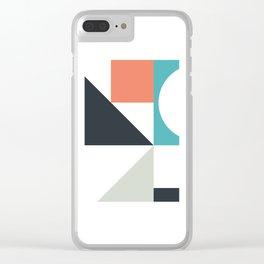 Match 303 Clear iPhone Case