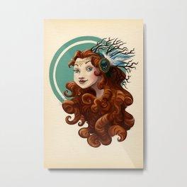 Tribal Princess Merida Metal Print