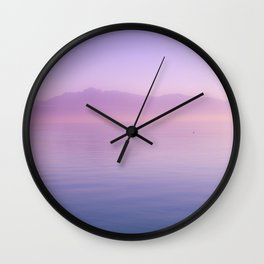 Infinite Sunset - Landscape Photography Wall Clock