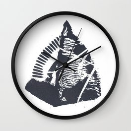 The Mountain Wall Clock