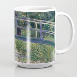 Water Lilies and the Japanese Bridge by Claude Monet Coffee Mug