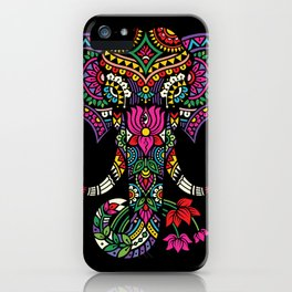Elephant Art iPhone Case
