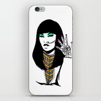 henna iPhone & iPod Skins featuring Henna by rbengtsson