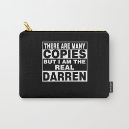 I Am Darren Funny Personal Personalized Fun Carry-All Pouch