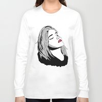 sky ferreira Long Sleeve T-shirts featuring Sky Ferreira by BUGS