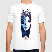 Dos Caras SMALL White Mens Fitted Tee