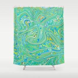 Summer Melt Shower Curtain